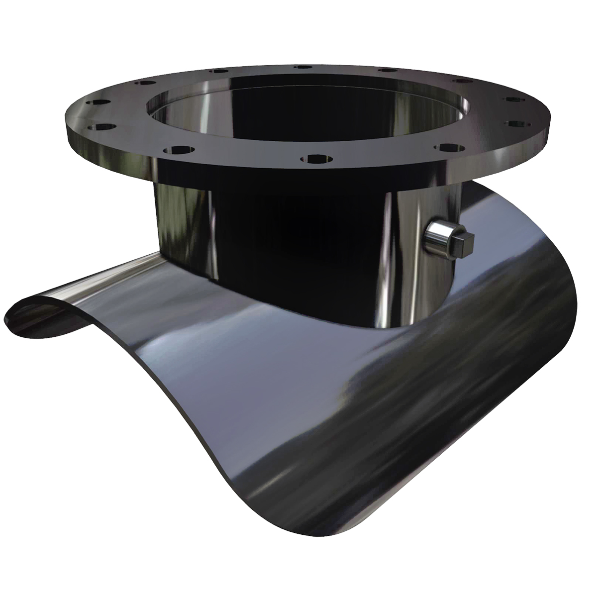 FTS445 - Fabricated steel weld-on tapping outletNominal Sizes6 - 96 inches, larger sizes available upon requestWorking PressureUp to 175 psi.Pipe CompatibilitySteel pipe