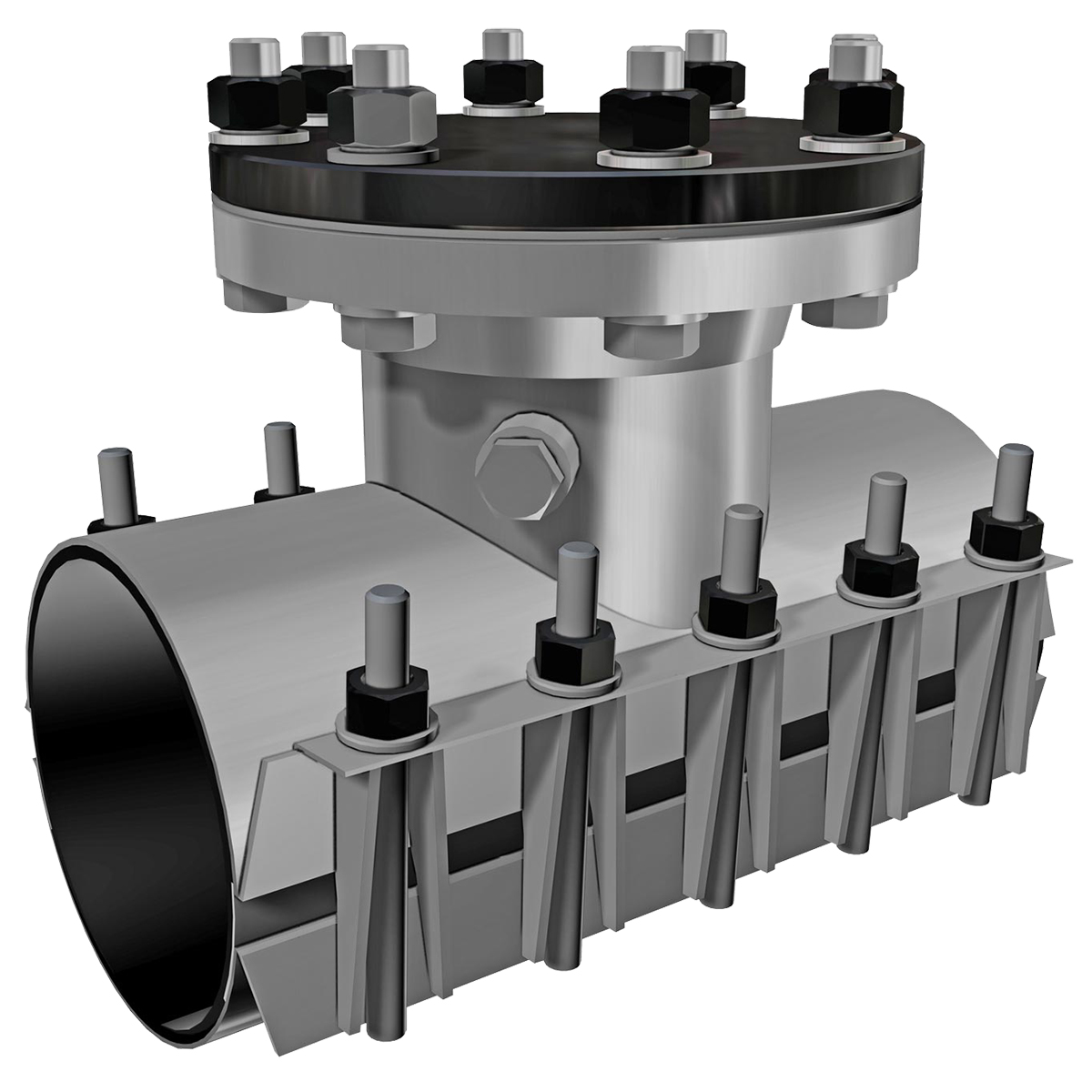 SST-X - Stainless steel line stop sleeveNominal Sizes4 - 12 inchesWorking Pressure4