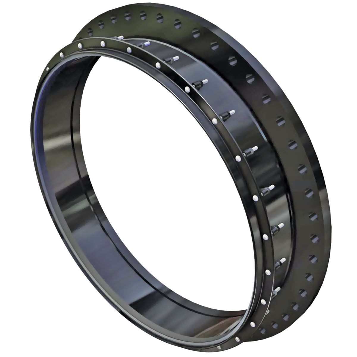 FC400 - Fabricated steel flanged coupling adapter.