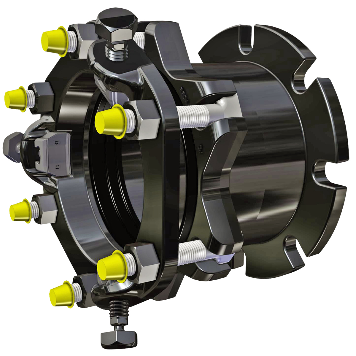 RFCA - Restrained flange coupling adapter.