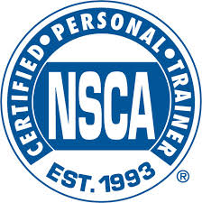 NSCA Certified Personal Trainer -
