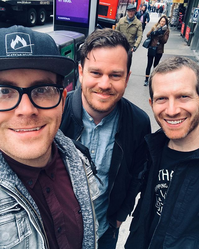 Throwback to when the 3 of us were hanging in NYC for a couple days. #goodtimes