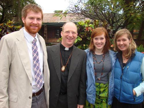 Sandy, Alex, Ginny, and Kate Evans
