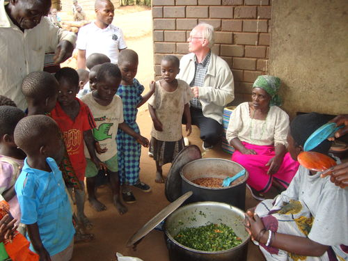 Feeding Center sponsored by Ministry of Hope