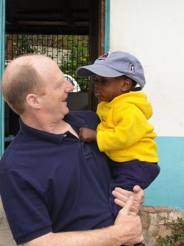 Alex and Frank, an orphan with HIV, Aids