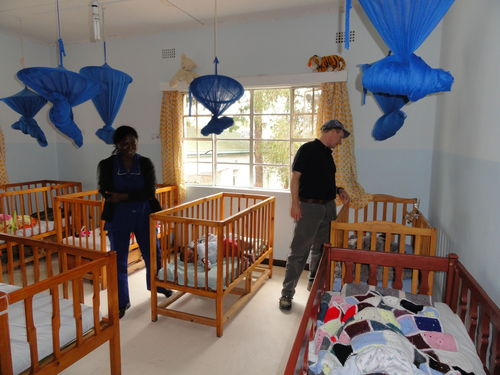 The one year old room.