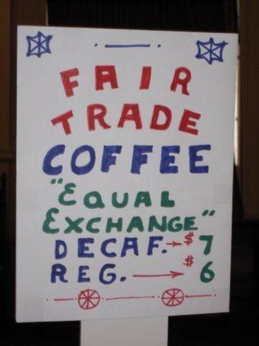 Fair Trade Coffee Sales