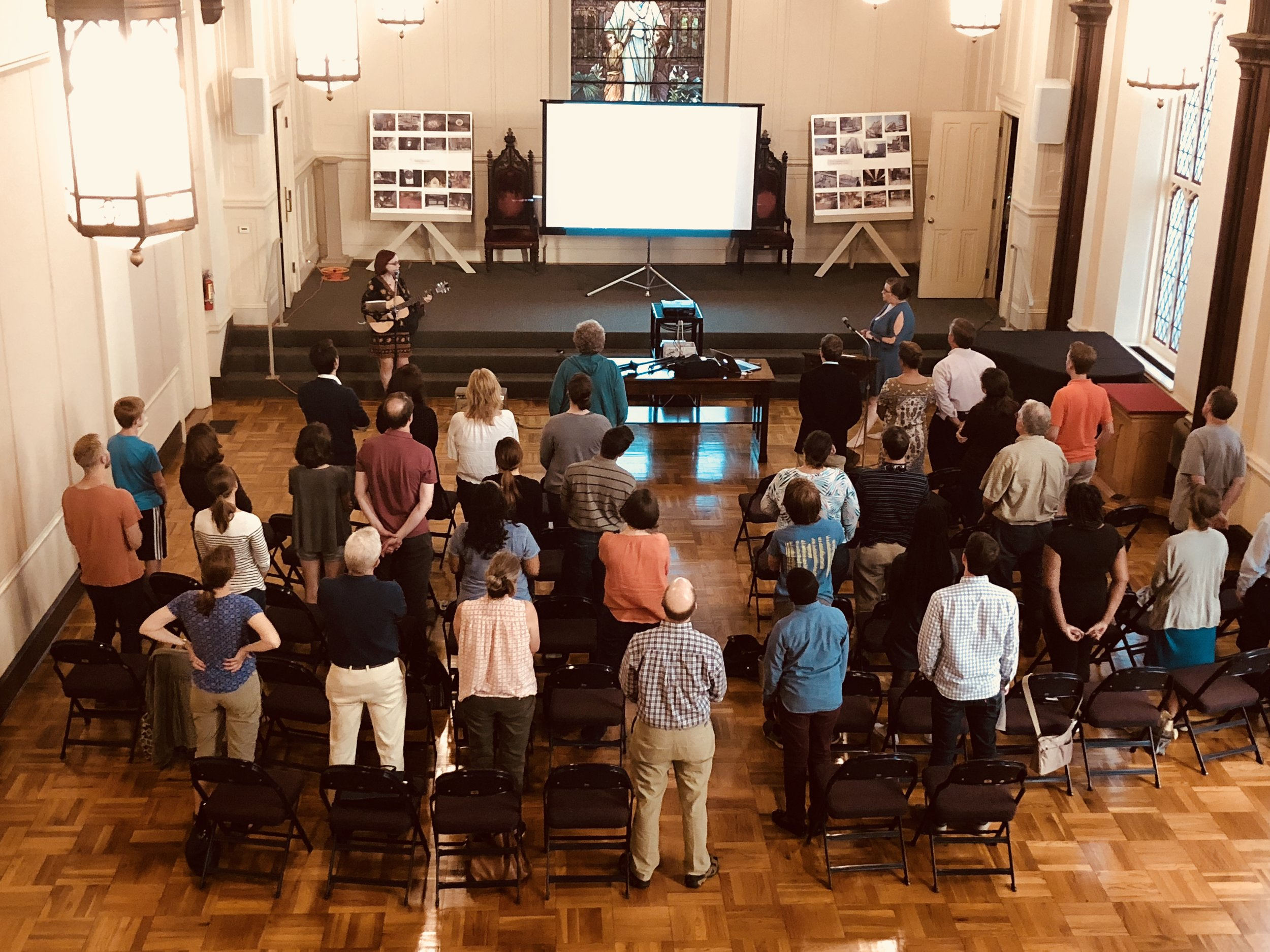 Lots of energy and meaningful worship - October 15 at 5pm.