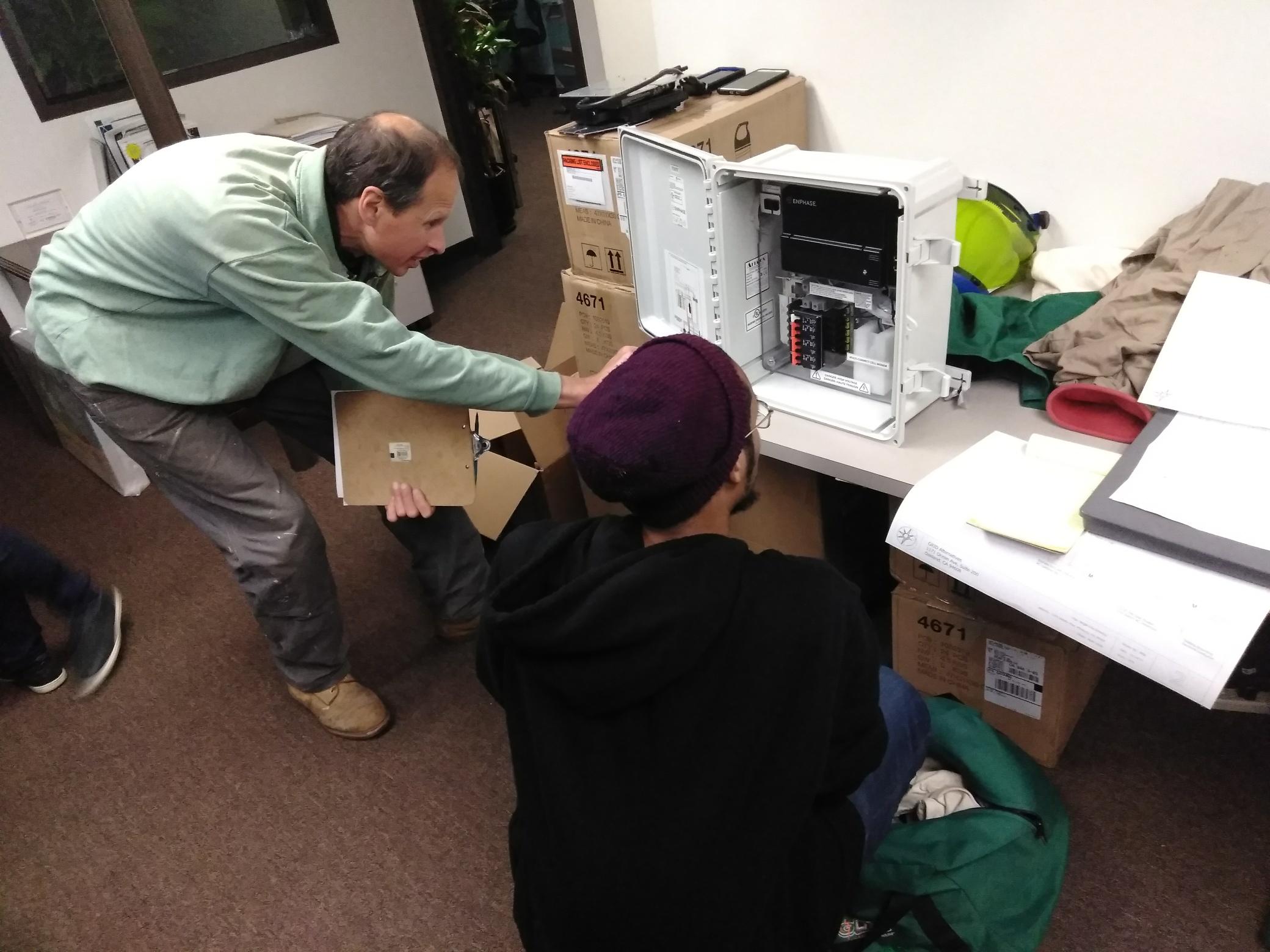 Issa  Volunteer (Junction Box) (GridAlternatives) 01-25-18.jpg