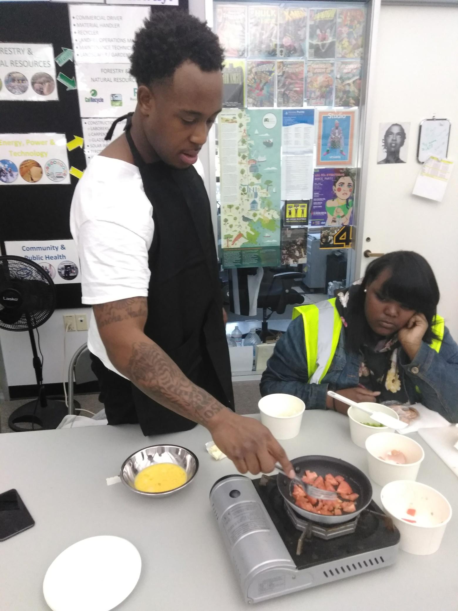 Zaire Cooking - Week#2 Day 1 Food  Cooking.jpg