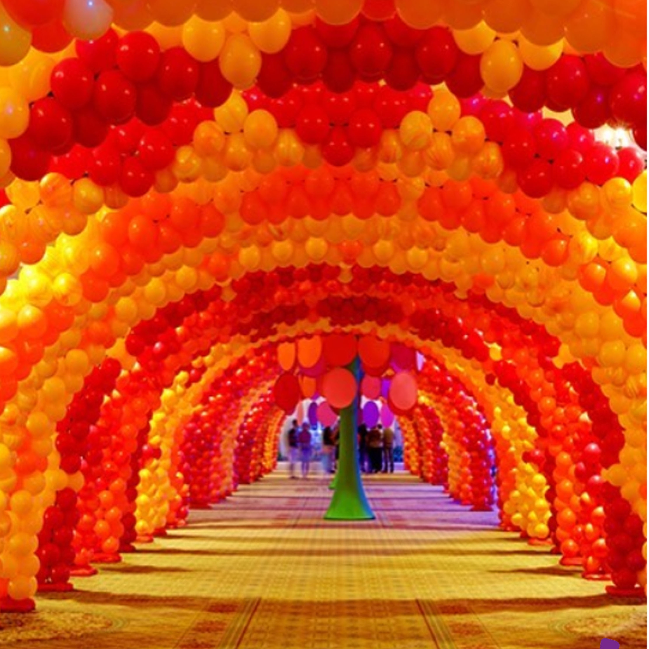 Balloon arch for a wow-factor impact
