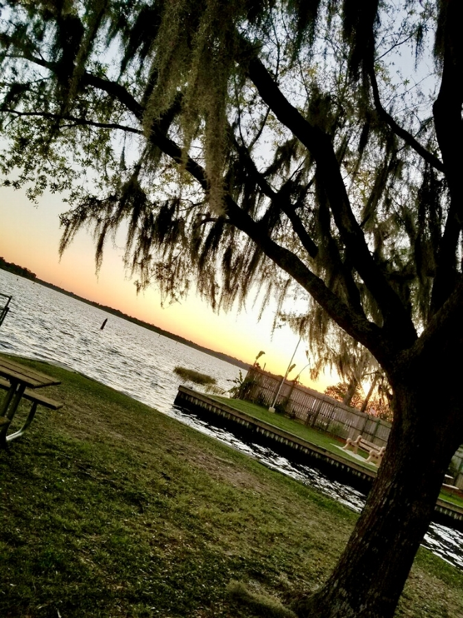 """Always in pursuit of Sunsets...yes all the sunset and sunrises I can get!!""~Stacey/ At the beautiful Crystal River camp ground"