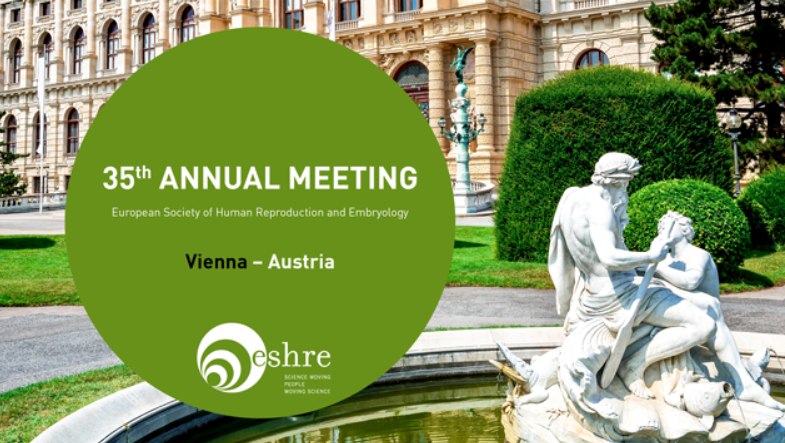 ESHRE, Vienna Messe, June 21-27, Booth C05 - Please stop by and say hello to the Mellowood Medical Team at the 35th Annual Meeting of Eshree, in Vienna Austria.Booth C05