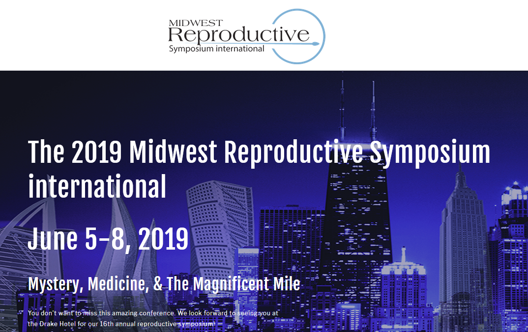 Midwest Reproductive Symposium International, Drake Hotel, Chicago, June 5-8, Booth 17 - Please stop by and say hello to the Mellowood Medical Team at the Midwest Reproductive Symposium International at the Drake Hotel Chicago.Booth 17