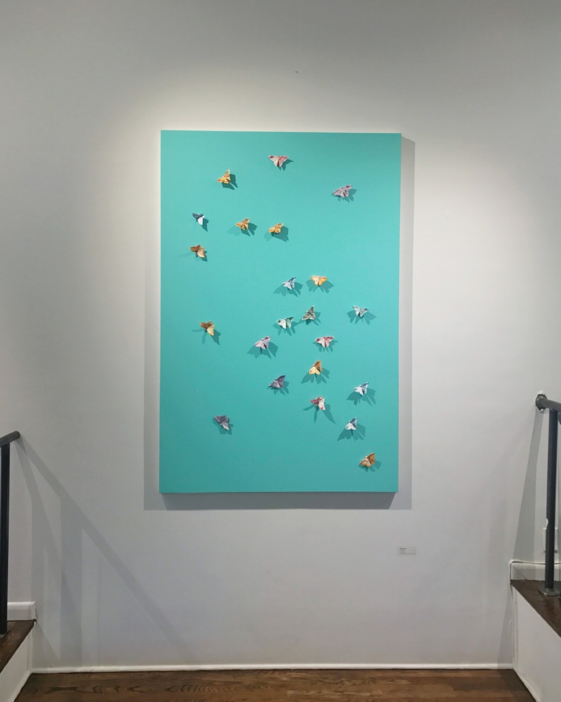 A recent show at the Georges Bergès Gallery in SoHo.
