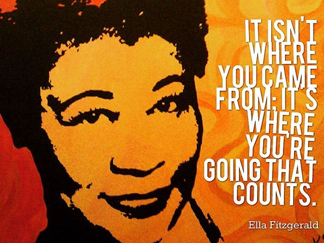 The lovely lady #ella #wisdomwednesday #riseabove #inspiration #jazzlegends #jazz #music #singsingsing