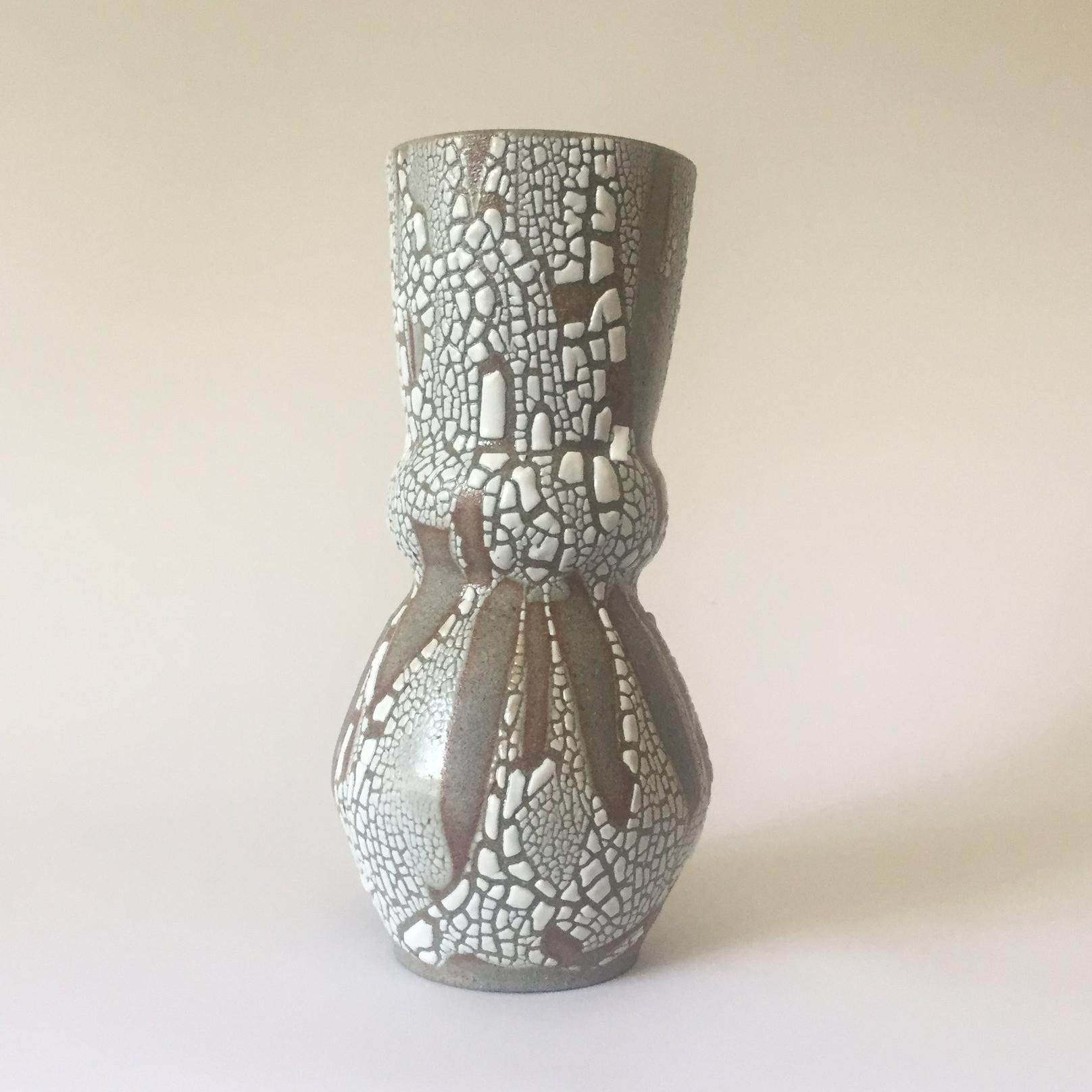 "Fjord Large  Glaze on granite stoneware. 10""H x 6""W Wholesale 90"