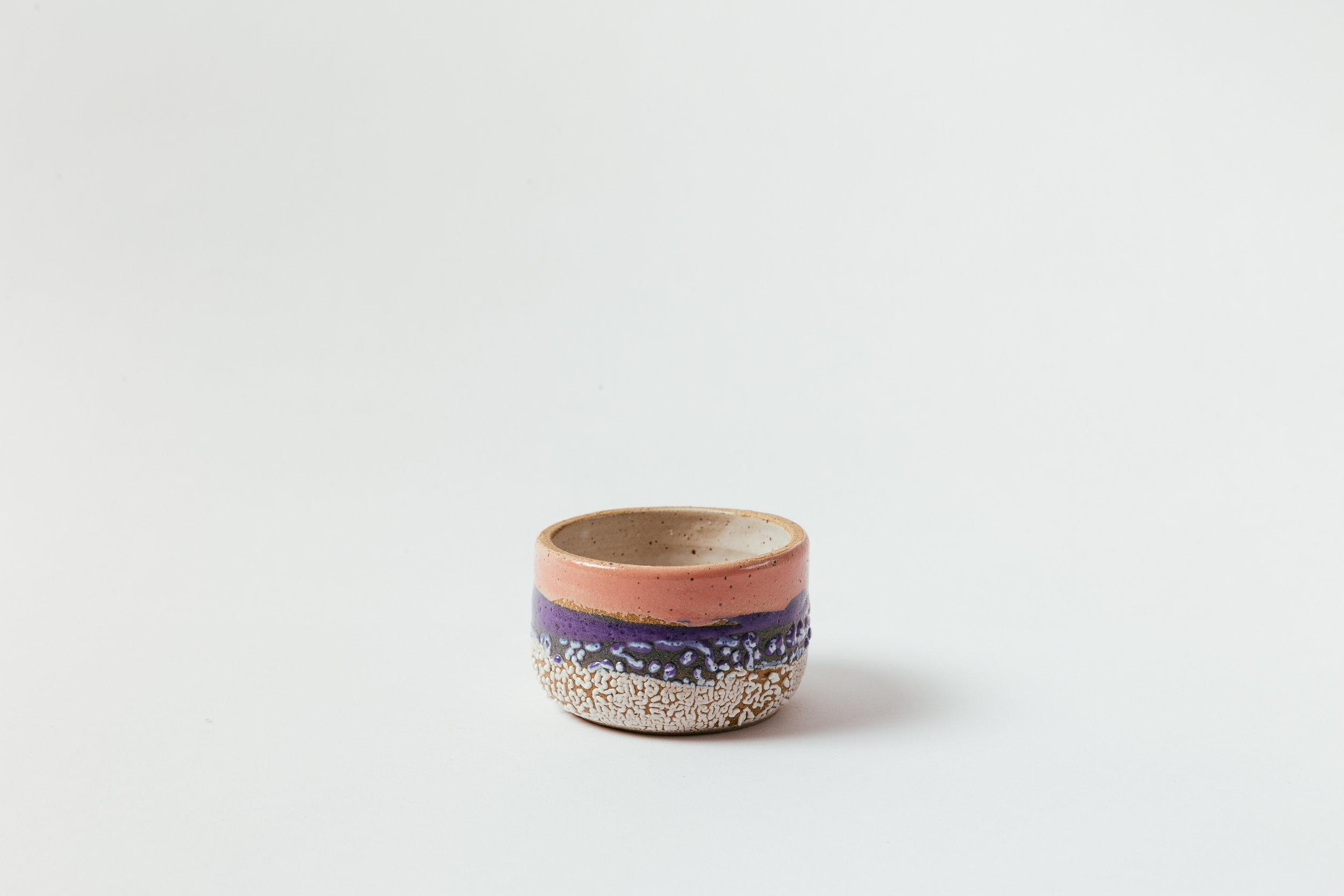 """Low Bowl, Small   Glaze on speckled stoneware.  3""""H x 5.5""""W Retail 58"""