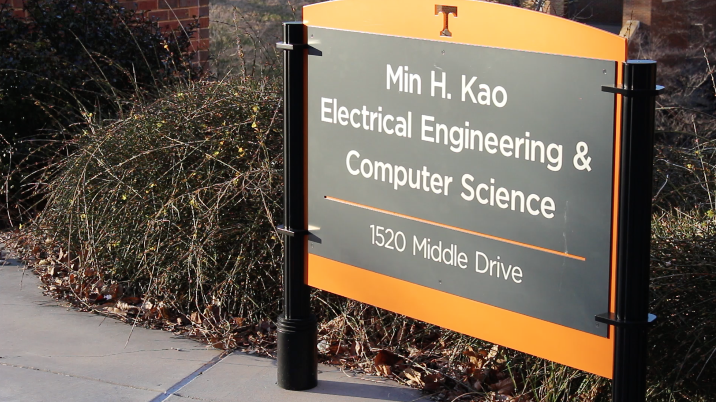 The Min H. Kao Building on campus is the home of the Electrical Engineering & Computer Science Department
