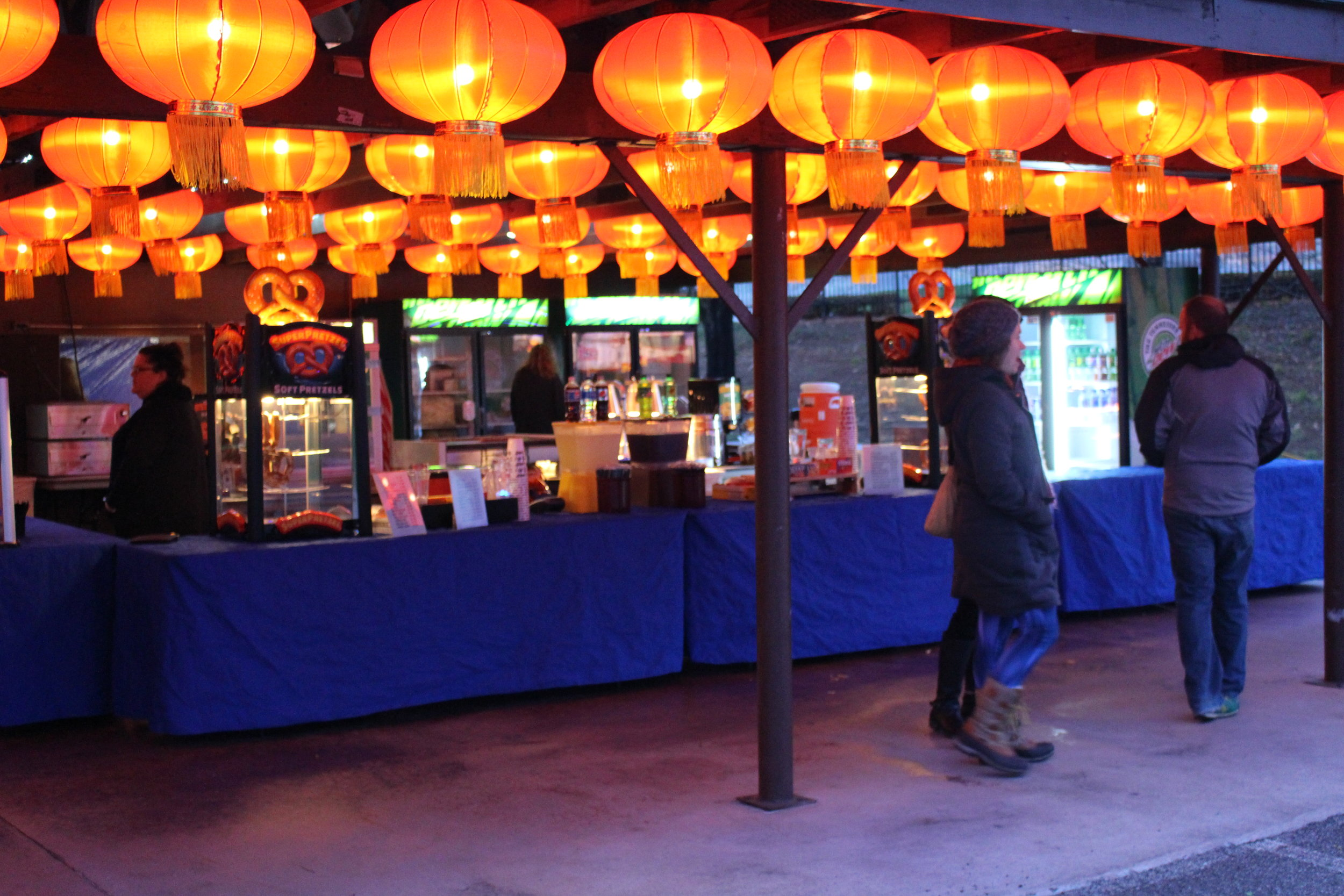 The festival has concessions available inside.