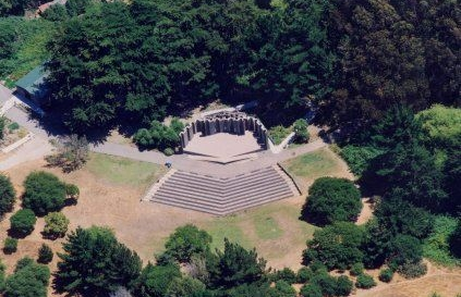 SAN FRANCISCO'S GREEK AMPHITHEATER - IN THE CITY'S 2ND LARGEST PARK
