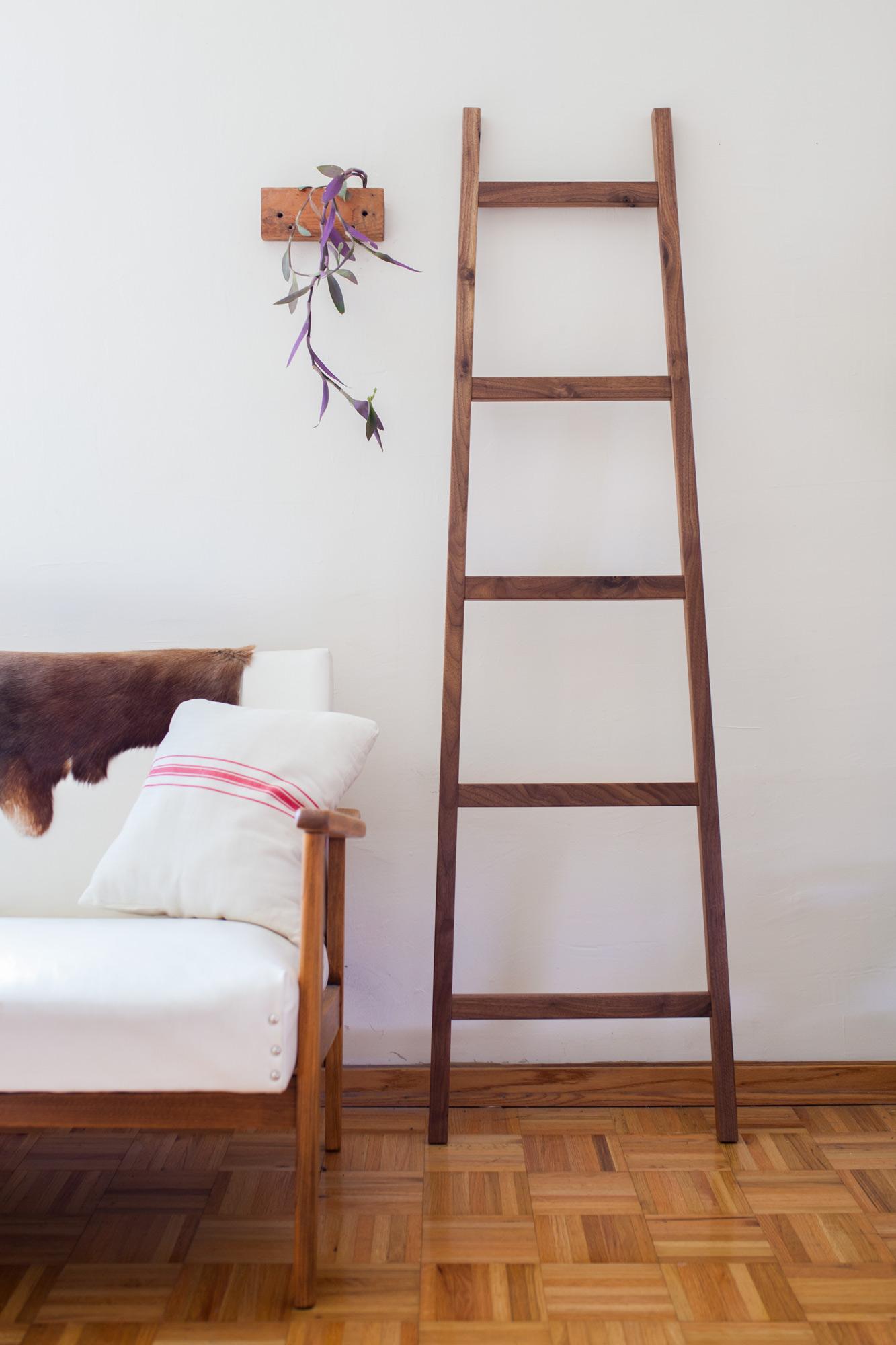 walnut ladder