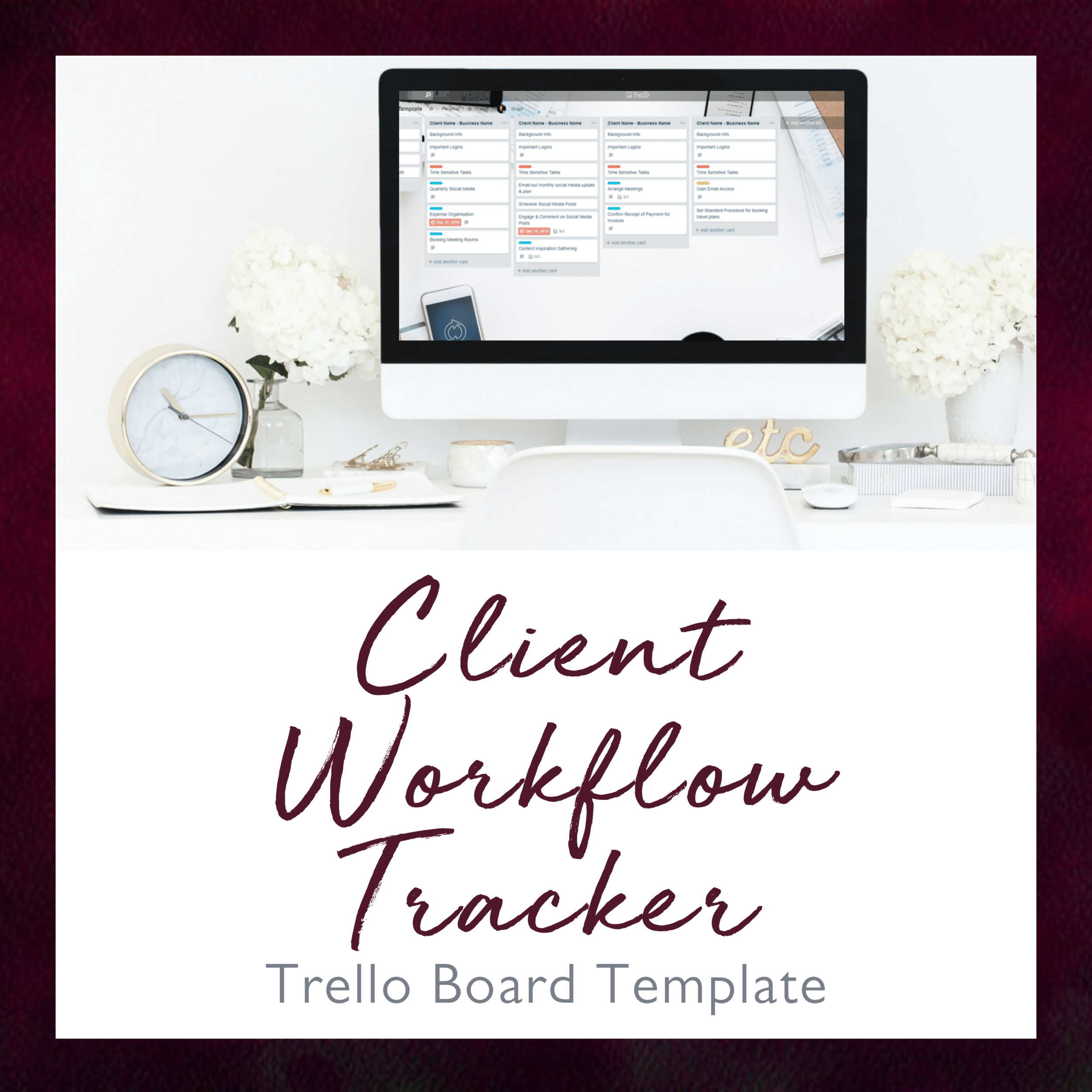 Trello is a super user-friendly project management tool that's great at helping you keep track of ongoing tasks and deadlines so you never miss a beat or drop the ball again.