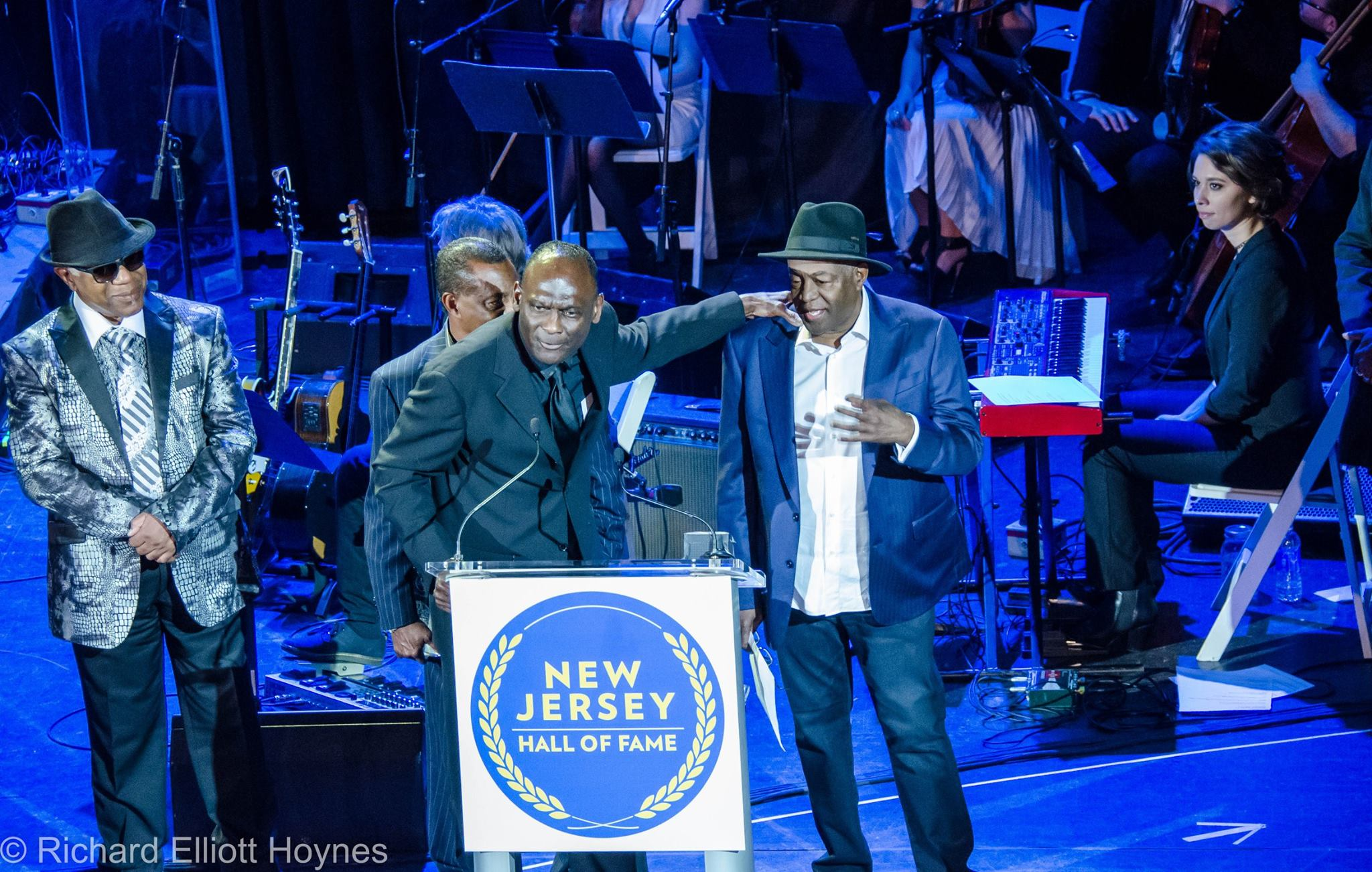 NJ 8th Annual Hall of Fame Induction Ceremony - Paramount Theatre, Asbury ParkApril 7, 2016
