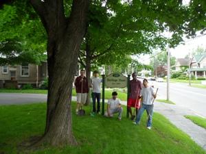 Union College Sigma Chi Volunteers