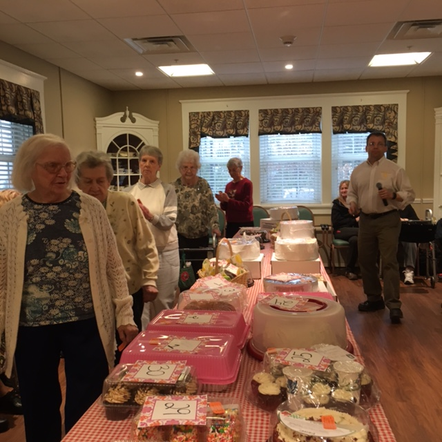 Cake Walk Fundraiser 2017