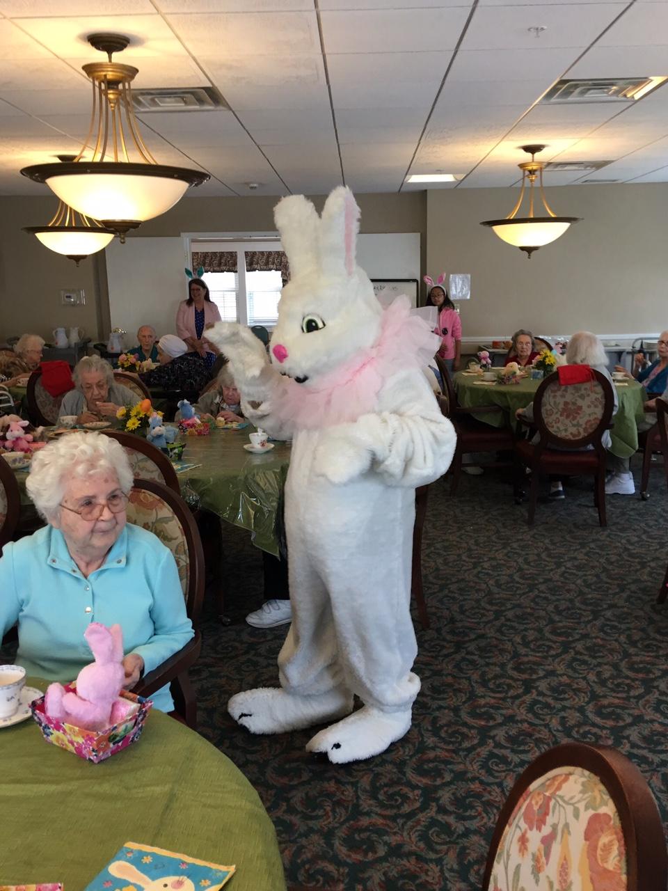 Easter Bunny Visit 2017