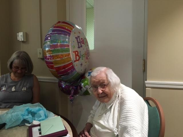 Lillian's 103rd Birthday!!!!