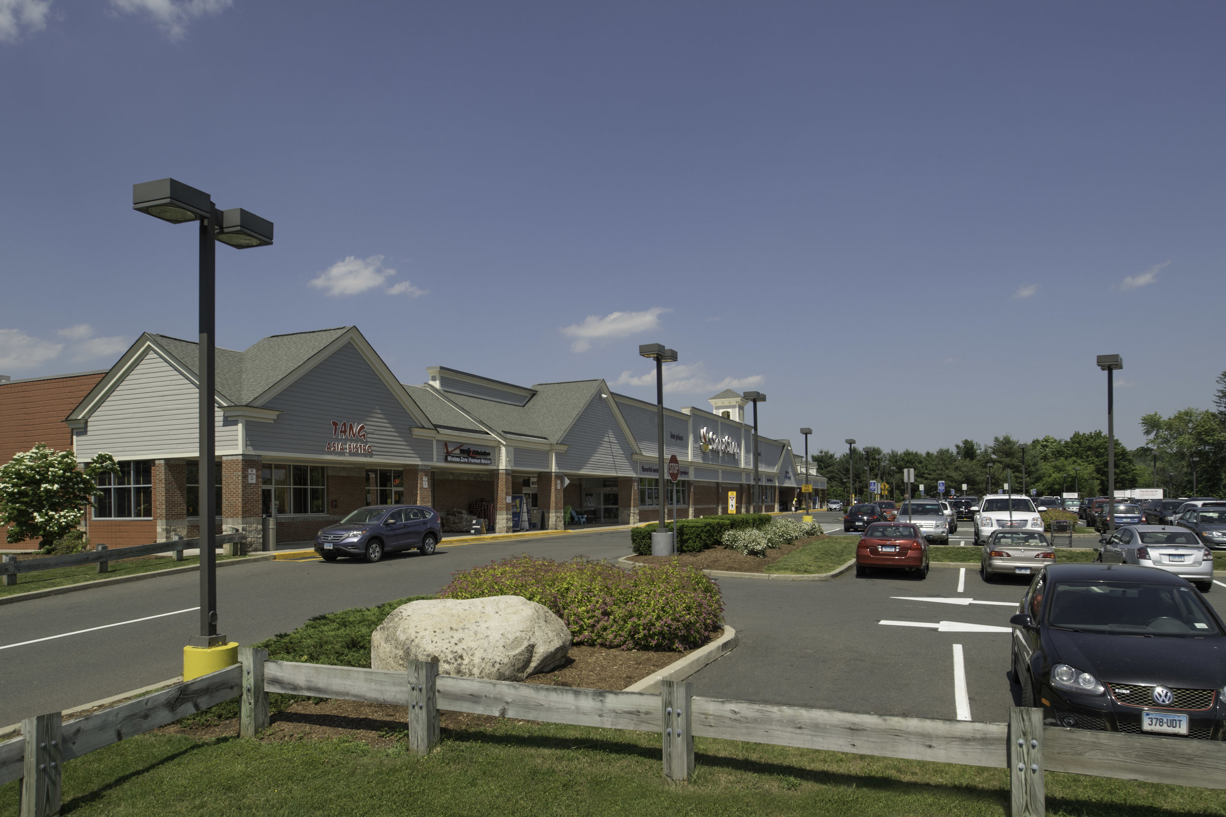 Stop & Shop Plaza - Recognizing its dominant retail location in East Hampton, at the intersection of East High Street (Route 66) and North Main Street...