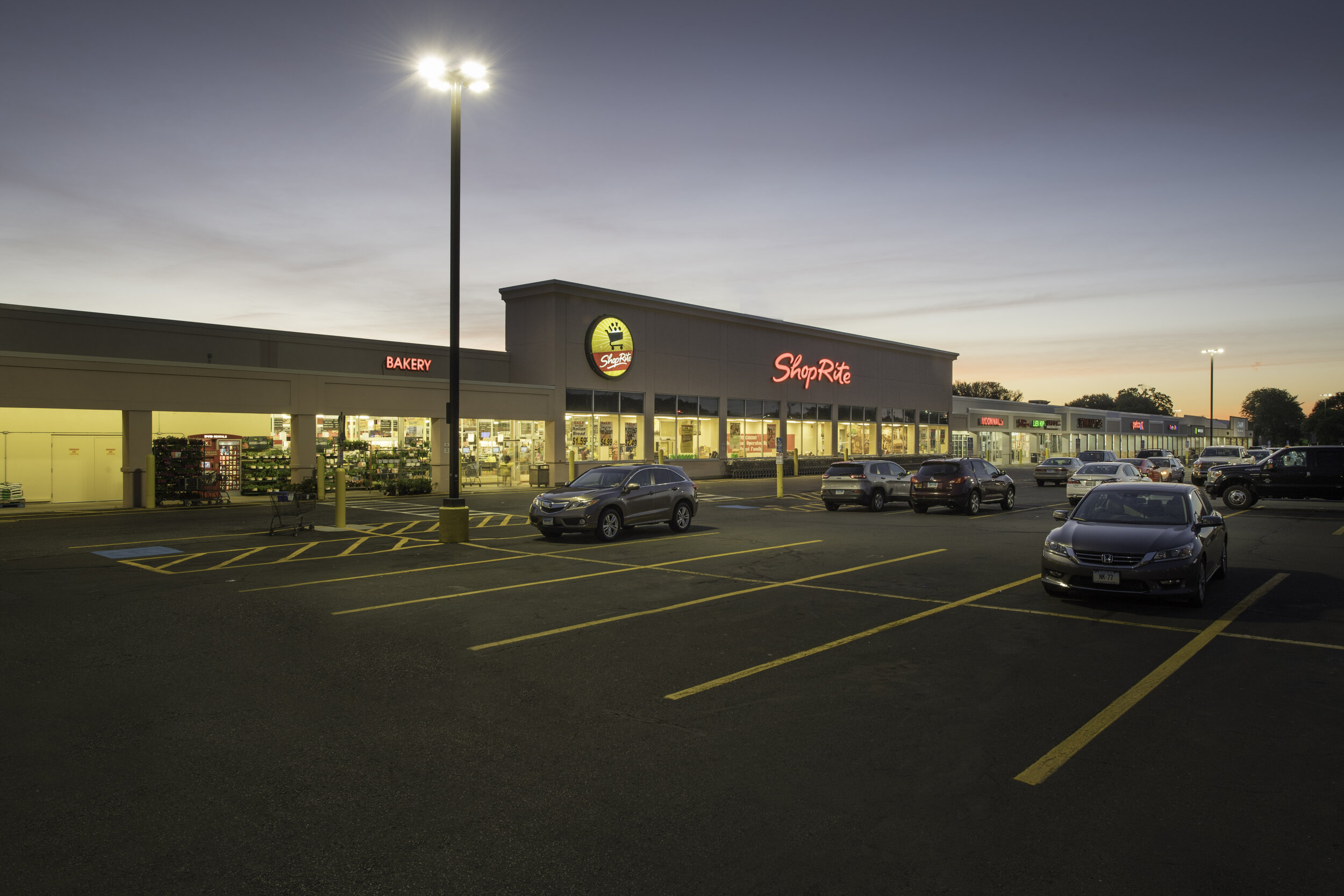 Shop Rite Plaza - 8,350 SF of prime multi-use space available on busy Route 10 in Southington, CT, the major retail artery of the region…