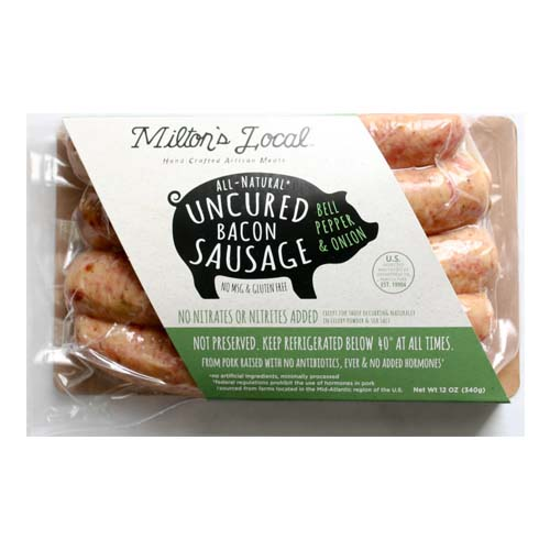 Milton Meats Onion Pepper Bacon Sausage 68311 1212 oz.jpg