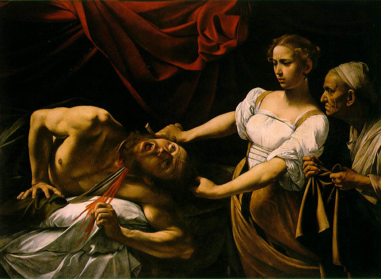 Caravaggio's Judith Slaying Holofernes