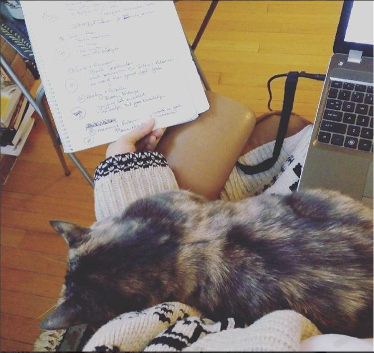 Moo and Computer and Notes.JPG