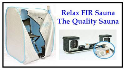 - The Relax Sauna is not only affordable... but it is also PORTABLE!!!