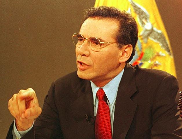 Former President Jamil Mahuad -