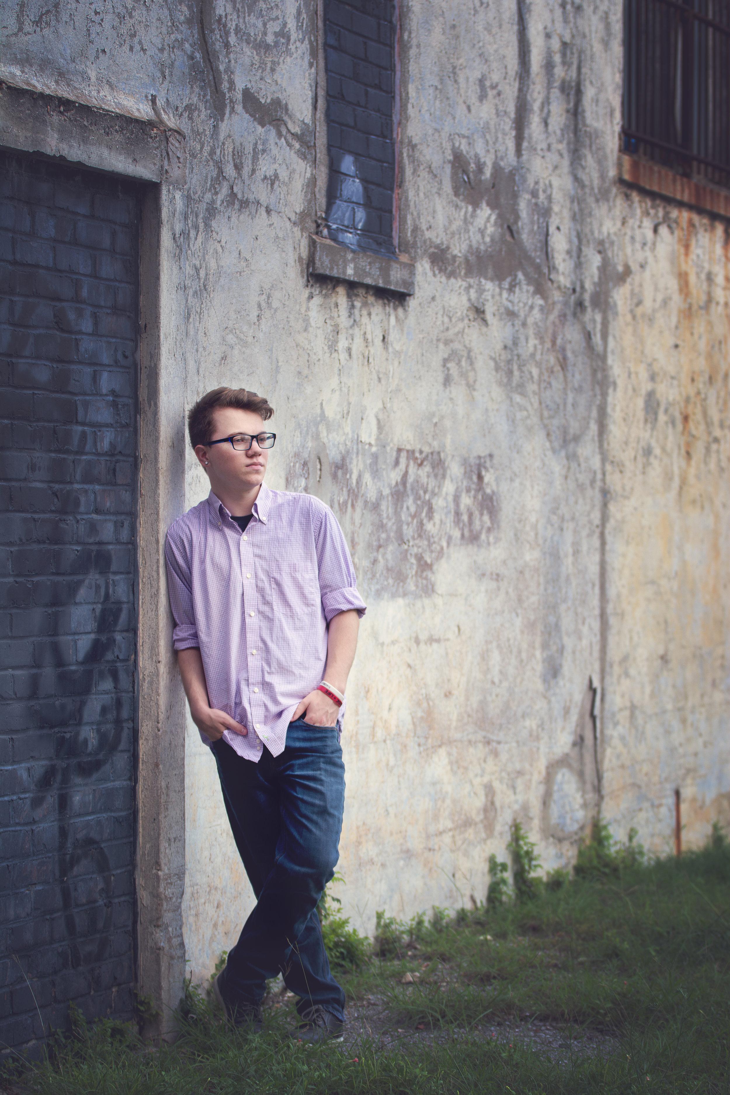 Nolan Senior Portrait Photography