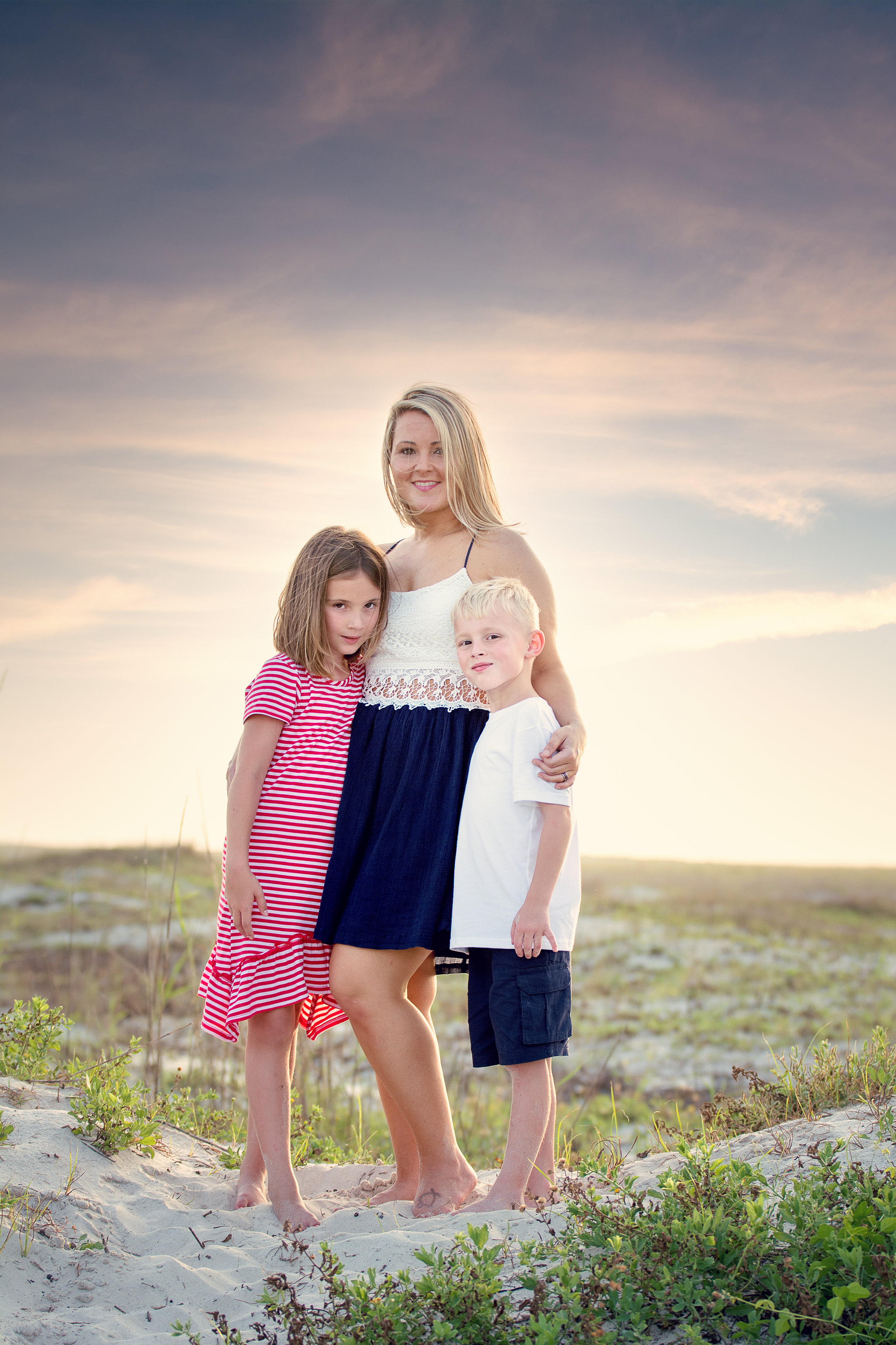 Family Portrait Session Dauphin Island Alabama
