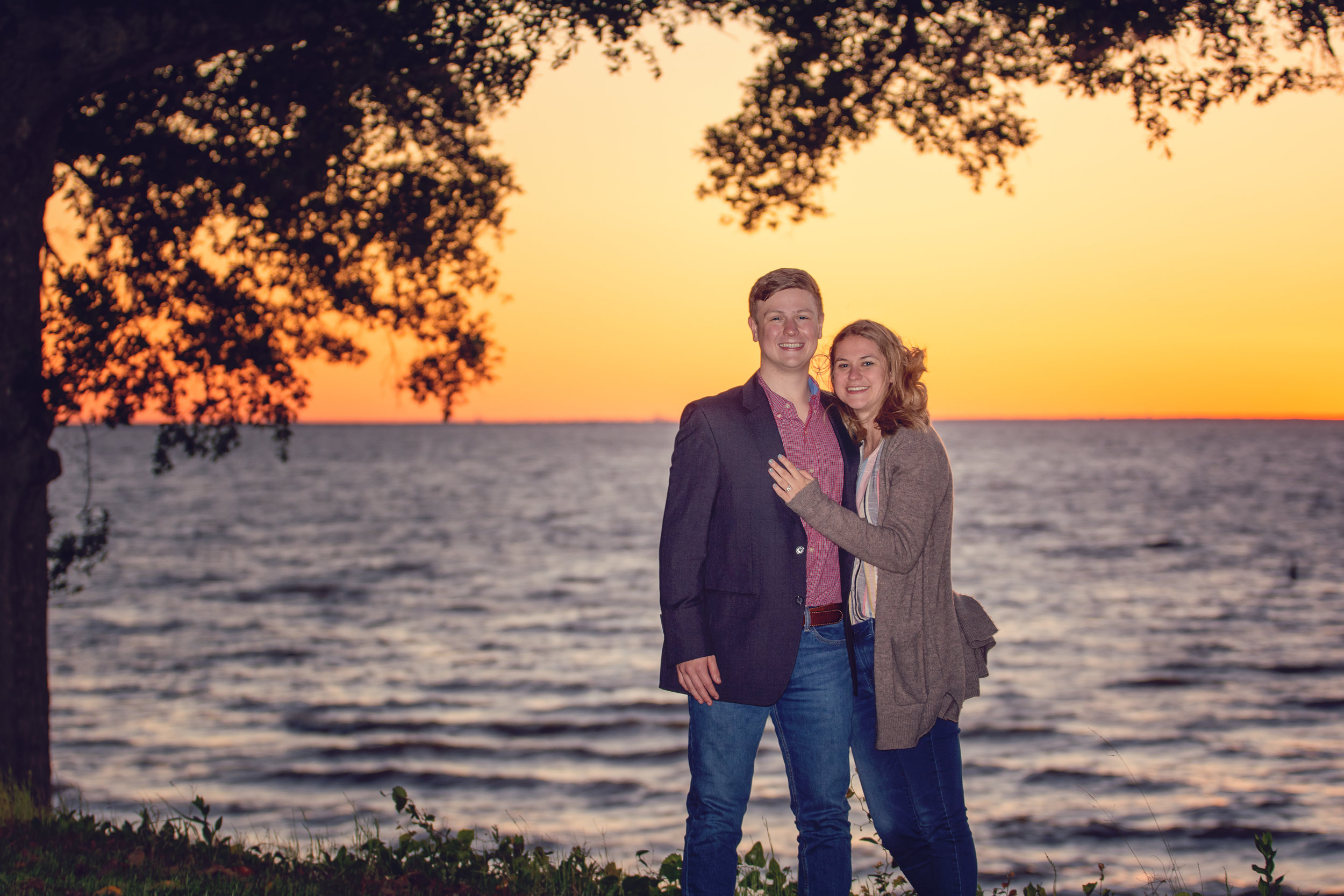 proposal engagement session fairhope mobile alabama