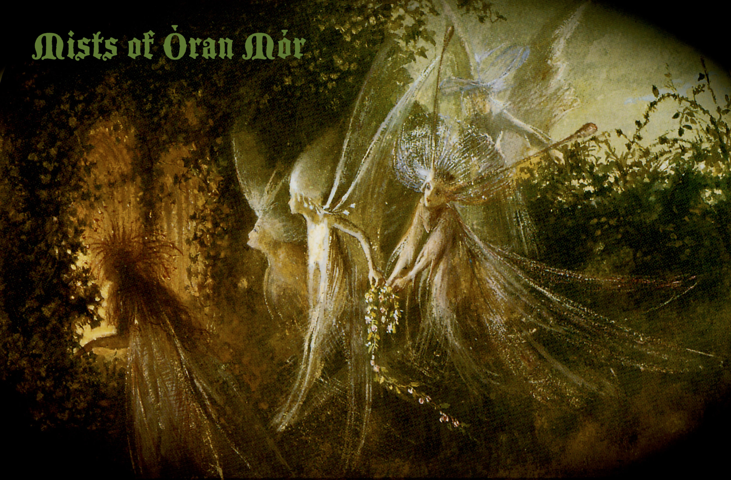 """Dennis & Yumi - Mystical ambiance and fae magick awaits you as you travel into the Faerielands.The Òran Mór is the Great Song of the Cosmos, the energy that suffuses all things, the living flow of All That Is. As we gather on this night, the rhythms of Faërie drumming and the music of crystal and Tibetan bowls, bells, chimes and drums thin the veils between the worlds for deep inner healing and communion with innerworld allies...Dennis George Rudolph is a Faërie Initiate who has been working (and playing) directly with the Otherworlds for more than three decades. He currently works as an intuitive consultant at Alexandria II in Pasadena, CA and at Waking Universe in Upland, CA. Pinoko (Yumiko) is the founder of Iyashirochi Sound Resonance, leading ambient musical and energetic healing experiences for individuals and groups. (""""Iyashirochi"""" means """"Sacred Place"""" in Japanese.) Her sound moves people toward inner peace."""
