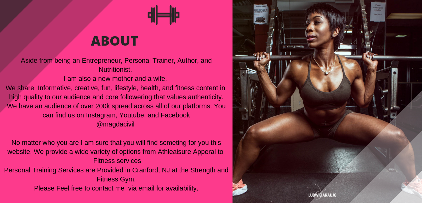 Aside from being an Entrepreneur, Personal Trainer, Author, and Nutritionist. I am also a new mother and a wife. We share Informative, creative, fun, lifestyle, health, and fitness content in high quality to our audi-3.png