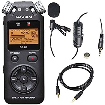 Backup Recorder Tascam DR_05 Value Kit with microSDHC Card Windscreen and AC Adapter.jpg