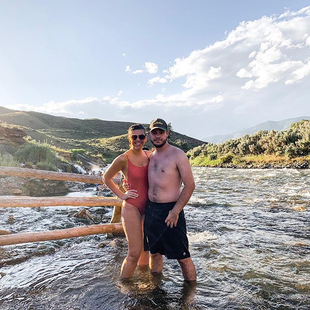 we are heading back to the airport after an amazing trip in yellowstone all week! from horseback riding in the forest to swimming in the hot springs to waking up early to watch some real life Nat Geo, we had a packed week of adventure in God's creation!