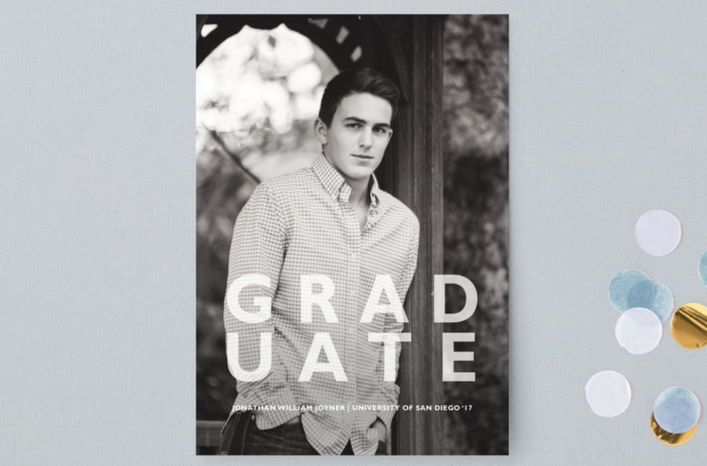 Minted.com - Graduation Announcement,