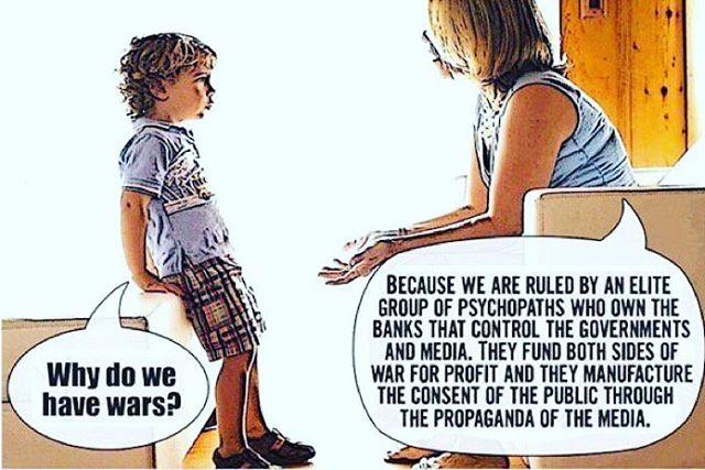 Mommy is 'woke' #think #war #government #propaganda #usa