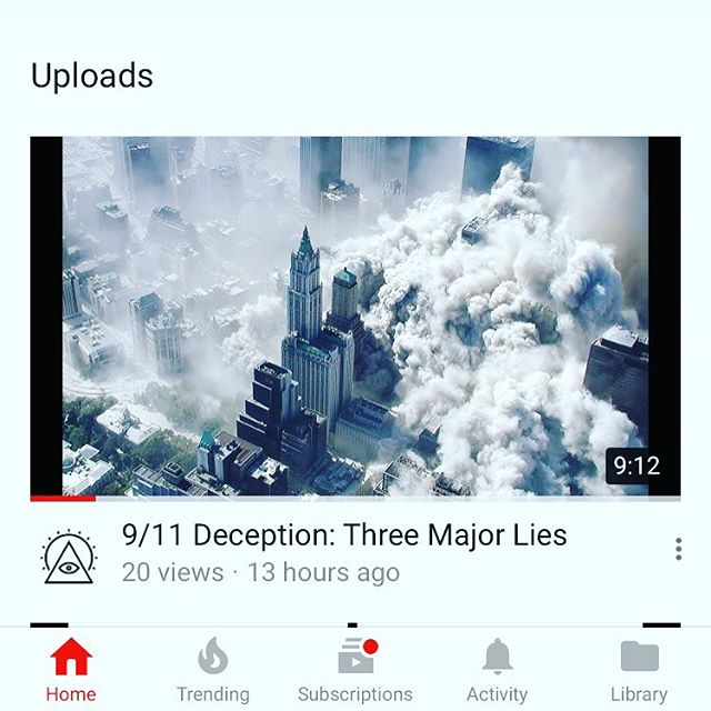 New video out now! https://youtu.be/2_g2SsFO9ps #911 #government #conspiracy #america #usa