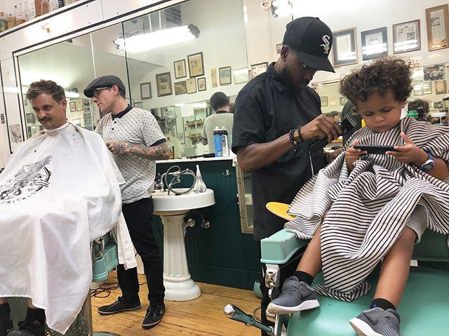 Like father, like son! See you guys tomorrow 💈